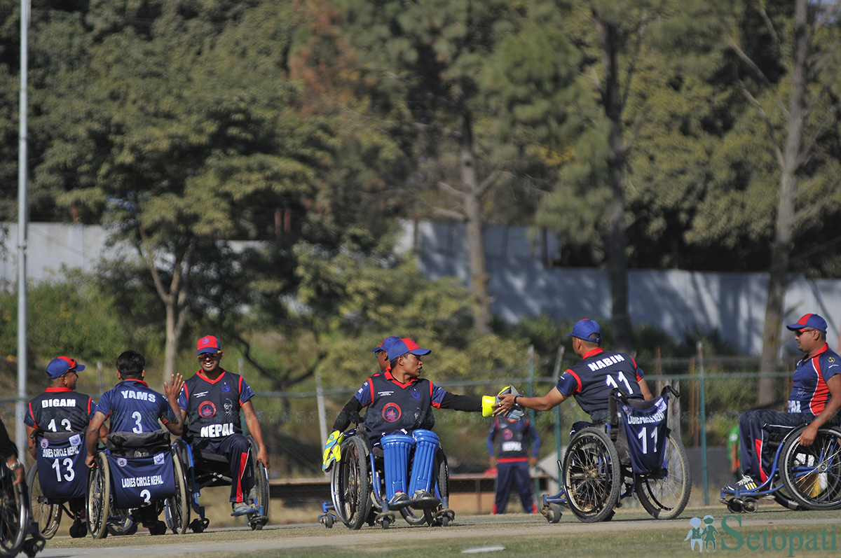 First-International-Wheel-Chair-Cricket-Nepal-Vs-Bangladesh-5